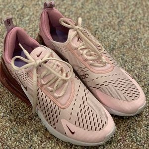 "AirMax 270 in ""Barely Rose"""